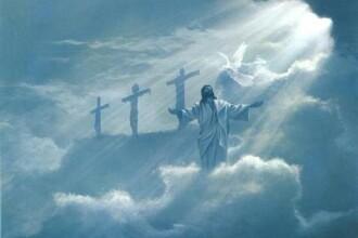Semn divin sau trucaj reusit? Chipul lui Isus aparut pe cer!