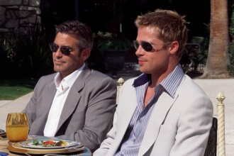 Hollywoodul e prea mic pentru Brad Pitt si George Clooney