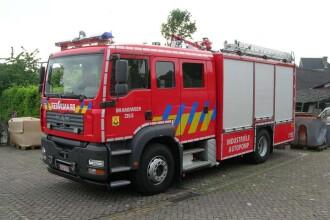 Echipamentele pompierilor, expuse in parcurile Capitale