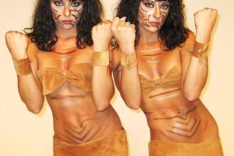 Surorile Cheeky Girls si Virgil Iantu, la Dansez pentru tine