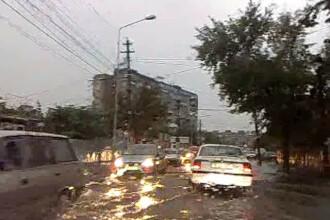 Mai multe localitati din Vestul tarii au ramas fara curent electric din cauza furtunii