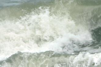 S-a deschis sezonul pe litoral!? Un curajos s-a aventurat in valurile marii