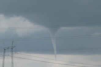 O noua tornada loveste Romania! A patra, in ultimele trei zile!