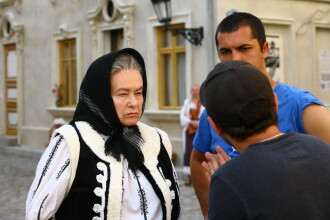 Stela Popescu e personajul misterios din