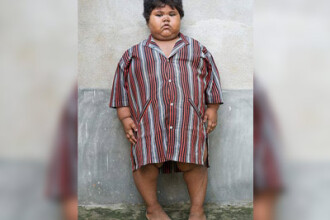 Are 5 ani si 76 de kilograme!