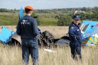 Tragedie aviatica la Moscova! Doua avioane de lupta s-au ciocnit in zbor