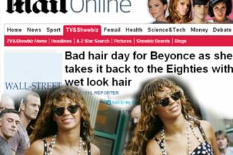 Beyonce incearca stilul anilor ' 80! Iti place noul look al artistei?!