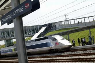 Sase romani, prinsi la furat de cabluri de TGV in Franta