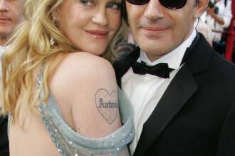 Antonio Banderas si Melanie Griffith se despart dupa 17 ani de relatie. Alcoolul, medicamentele si infidelitatea sunt de vina