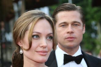 Brad Pitt s-a saturat de Angelina Jolie! E decis sa o paraseasca!