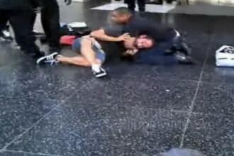 Un surdo-mut batut de politie pentru ca n-a auzit o alarma! VIDEO