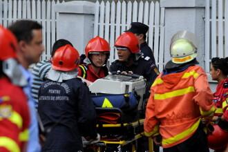 Pompierii care au actionat la Maternitatea Giulesti, avansati in grad