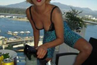 Lady GaGa incearca sa pozeze incitant! Cum ti se pare?