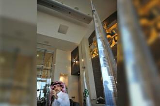 Burj Khalifa intra la apa. Cea mai inalta cladire din lume, construita de grupul Bin Laden. FOTO