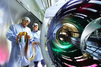 Asculta sunetul Acceleratorului de particule de la CERN. Galerie foto cu experimentele ATLAS