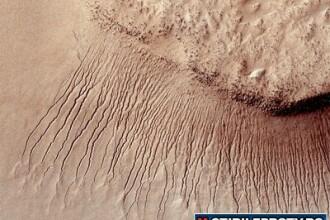 Descoperire istorica. Cea mai clara dovada ca ar putea exista apa pe Marte. VIDEO