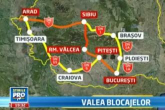 VIDEO. Cunoaste-i pe oamenii care tin blocat cel mai important drum pentru economia Romaniei