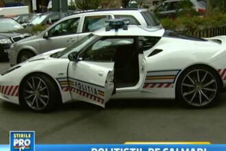 Politistii gonesc pe urmele tale cu 280 km/h, intr-un Lotus de 76.000 de euro.Prinde