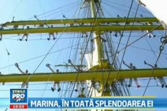 Marina, in toata splendoarea ei. Parada militara vazuta prin obiectiv. VIDEO