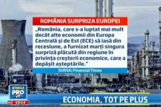 Va vine sa credeti? Economia Romaniei a crescut mai mult decat cea a Germaniei, Frantei sau Olandei