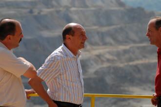 Basescu: Toti angajatii de la Rosia Montana vor fi romani, inclusiv directorul