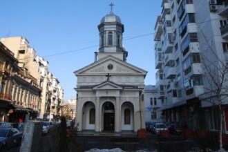 Morminte si vestigii ale unei biserici mai vechi, descoperite sub Biserica Alba din Capitala