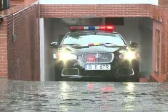 Dupa Lotus, politistii de la Rutiera au si un Jaguar XFR. Are 510 CP si atinge