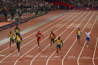 Usain Bolt castiga aurul la 200 de metri si ofera un photo-finish cum nu s-a vazut vreodata la JO