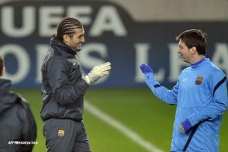 Conferinta de presa FC Barcelona. Pinto: Cred ca gazonul va fi in cele mai bune conditii