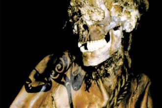 FOTO. Un tatuaj vechi de 2.500 de ani i-a pus pe ganduri pe arheologi. Secretele unei printese