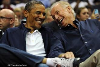 Casa Alba a anuntat ca Joe Biden ramane partenerul de cursa al lui Barack Obama