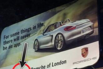 Englezii au facut de ras Porsche in toata lumea cu o greseala de gradinita. FOTO