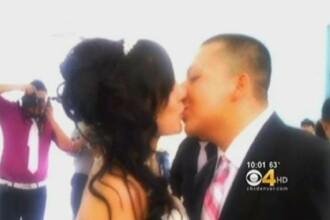 Nunta lor chiar a fost una de cosmar. Ce s-a intamplat la cateva momente dupa aceasta fotografie