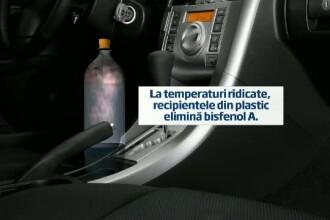 Lichidele tinute in soare, in recipiente de plastic, au efecte grave asupra organismului
