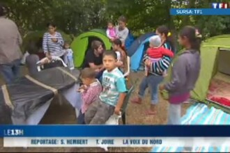 Franta ar putea ridica restriciile pe piata muncii in speranta ca va reusi sa-i integreze pe romi