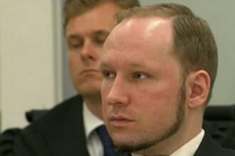 SENTINTA in cazul Breivik: 104 ZILE de inchisoare pentru fiecare VICTIMA