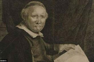 Din dorinta de-a face economie au pierdut o copie celebra a unei gravuri semnate de Rembrandt