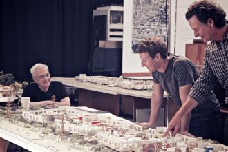 Galerie FOTO. Macheta noului sediu al Facebook, in care vor munci peste 2.000 de angajati