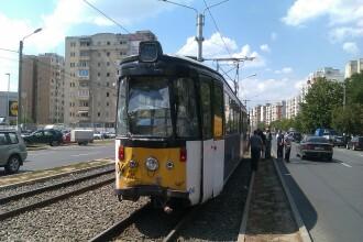 Circulatia tramvaielor in zona Calea Rahova - Progresului din Capitala, oprita din cauza unei avarii