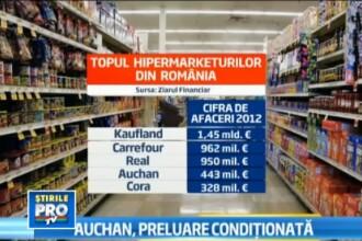 Premiera in Romania. Ce decizie au luat autoritatile in cazul tranzactiei Real-Auchan
