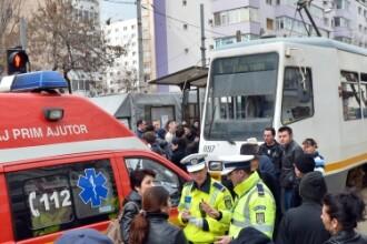 Vatmanul unuia dintre tramvaiele care s-au ciocnit in Capitala, cercetat penal