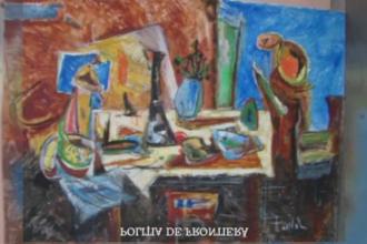 32 de tablouri ale artistului Marcel Iancu, confiscate pe Otopeni. Expeditorul este necunoscut