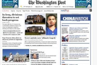 Washington Post, cumparat de seful lui Amazon, Jeff Bezos pentru 250 de milioane de dolari