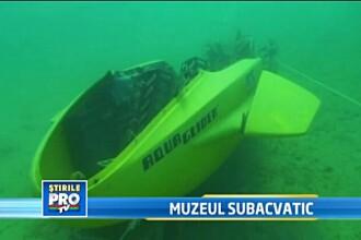 Un muzeu din Croatia ofera turistilor numai falsuri, dar are succes. Secretul: totul este subacvatic