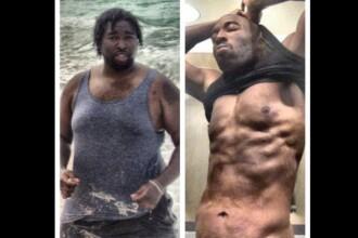 Un barbat din Statele Unite a slabit 63 de kilograme dupa ce prietena l-a anuntat ca este gravida