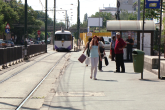 Tramvaiele de pe liniile 1, 2, 4, 5 si 6 vor avea traseu deviat de 1 decembrie. Afla cum vor circula
