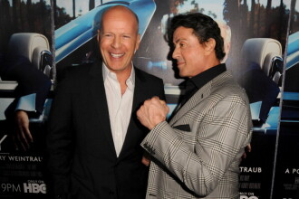 Sylvester Stallone: Bruce Willis este lacom si lenes