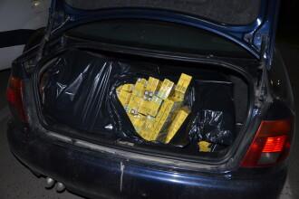 Peste 7.400 de pachete de tigari, confiscate de politistii din Baia Sprie