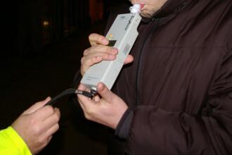 Dosare penale in a doua zi de Craciun pentru soferii care s-au urcat la volan dupa ce au baut alcool