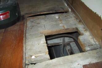 Ce a gasit o femeie sub podea, in locuinta ei.